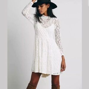 Free people lace dress size xs